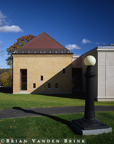 TFH Architects.Patten Free Library Additions .Bath, Me.