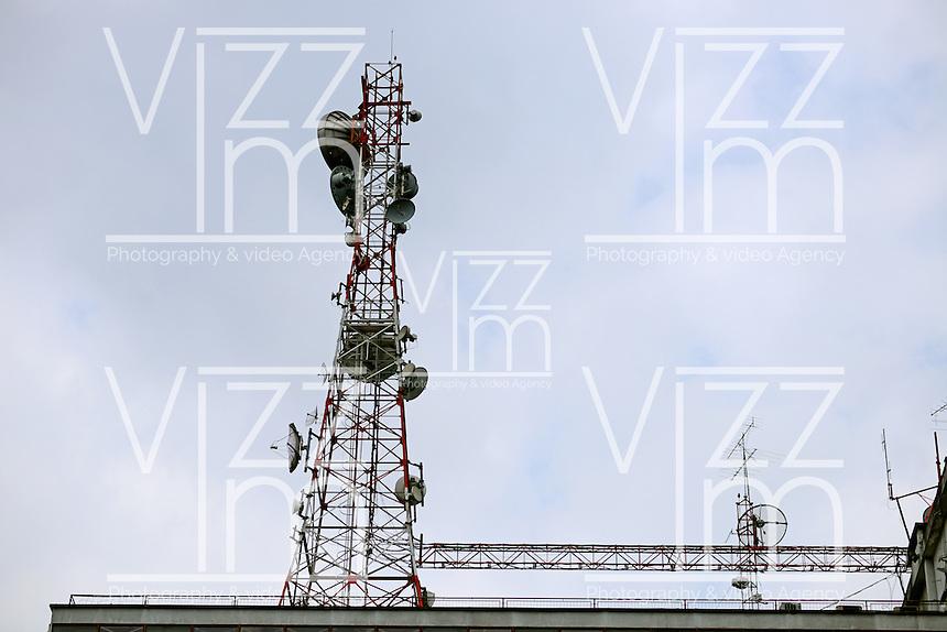 BOGOTÁ-COLOMBIA- Torres de comunicación./ Communication Towers.  Photo: VizzorImage/STR