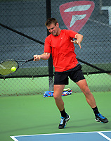 Jordan Fleming. 2017 Wellington Open tennis championship at Renouf Tennis Centre in Wellington, New Zealand on Tuesday, 19 December 2017. Photo: Dave Lintott / lintottphoto.co.nz
