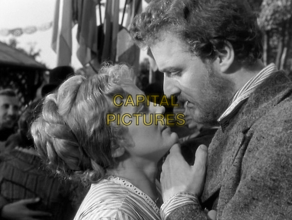 Maria Schell &amp; Armand Mestral <br /> in Gervaise (1956) <br /> *Filmstill - Editorial Use Only*<br /> CAP/NFS<br /> Image supplied by Capital Pictures