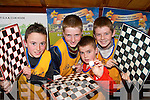 CHECKMATE: The Beaufort Draughts team that will represent Kerry at the Munster Community Games Draughts Finals in Limerick at the weekend..L/r. Sean Kelliher, Shane O'Sullivan, Daragh Coffey and Shane O'Sullivan.   Copyright Kerry's Eye 2008