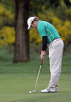 22 May, 2010:   Eastern Michigan's Marty Jeppesen attempts a putt on hole 10 during day three of the NCAA West Regional First Round at Gold Mountain Golf Course in Bremerton, Washington.