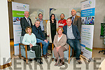 The annual Enterprise Month was officially launched on Monday with the Kerry Local Enterprise Office County Enterprise Awards at the Manor West Hotel. Pictured are the Finalist front l-r Eileen and Thomas Ashe, Annascaul Black Pudding, Mary and Fionan Murphy, FM Marine Services, Ltd, Back l-r  Jerry Moloney (Regional Director Enterprise Ireland), Sean Rush, Sean Rush Dental Lab, Jessica Clinton and Michael Lenihan, Ballyhar Foods,  Tomas Hayes, Local Enterprise Office