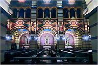 Igreja Basilica de Sao Bento, Sao Paulo. 2018. Foto de Juca Martins.