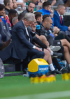 Roy Hodgson Manager of Crystal Palace during the Premier League match between Tottenham Hotspur and Crystal Palace at Wembley Stadium, London, England on 14 September 2019. Photo by Vince  Mignott / PRiME Media Images.