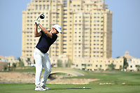 Marcel Schneider (GER) during round 2, Ras Al Khaimah Challenge Tour Grand Final played at Al Hamra Golf Club, Ras Al Khaimah, UAE. 01/11/2018<br /> Picture: Golffile | Phil Inglis<br /> <br /> All photo usage must carry mandatory copyright credit (&copy; Golffile | Phil Inglis)