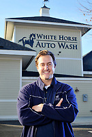 White Horse Auto Wash owner Bobby Rust