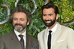 www.acepixs.com<br /> <br /> May 28 2019, London<br /> <br /> Michael Sheen and David Tennant arriving at the premiere of 'Good Omens' at the Odeon Luxe Leicester Square on May 28 2019 in London, England.<br /> <br /> By Line: Famous/ACE Pictures<br /> <br /> <br /> ACE Pictures Inc<br /> Tel: 6467670430<br /> Email: info@acepixs.com<br /> www.acepixs.com