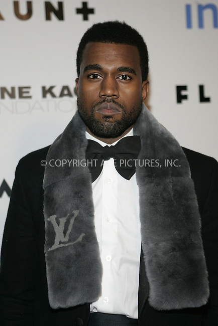 WWW.ACEPIXS.COM . . . . . ....December 18 2008, LA....Musician Kanye West arriving at Flaunt Magazine's 10th anniversary and annual holiday toy drive at The Wayne Kao Mansion on December 18, 2008 in Los Angeles, California.....Please byline: JOE WEST- ACEPIXS.COM.. . . . . . ..Ace Pictures, Inc:  ..(646) 769 0430..e-mail: info@acepixs.com..web: http://www.acepixs.com
