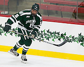 Brandon McNally (Dartmouth - 15) - The Harvard University Crimson tied the visiting Dartmouth College Big Green 3-3 in both team's first game of the season on Saturday, November 1, 2014, at Bright-Landry Hockey Center in Cambridge, Massachusets.