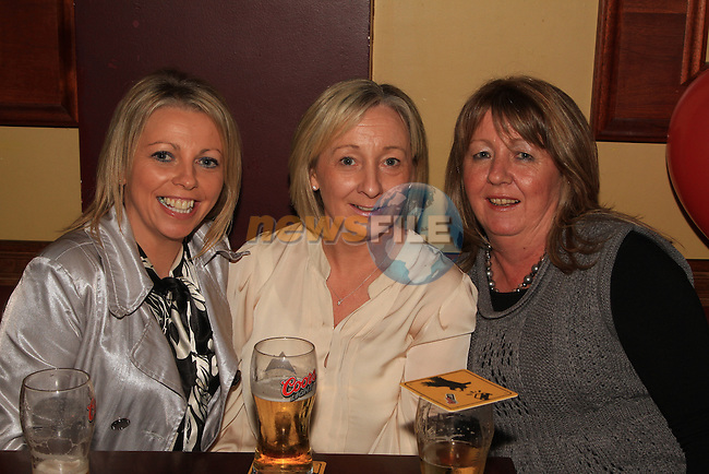 Gillian Fitzpatrick, Dawn Kerr and Christine Dyas at the Peter Lyons' Bakery Reunion in McHughs..Picture: Shane Maguire / www.newsfile.ie.
