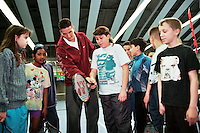 1997, ABNAMROWTT,  Kidsday, kids met Krajicek