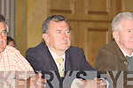 Aried Ted Fitzgerald as he waitys paitently for the count to see if he would be elected to the Kerry County Council.......