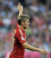 FUSSBALL   1. BUNDESLIGA  SAISON 2011/2012   7. Spieltag FC Bayern Muenchen - Bayer 04 Leverkusen          24.09.2011 Toni Kroos (FC Bayern Muenchen)