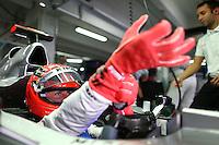 HOCKENHEIM, ALEMANHA, 20 JULHO 2012 - FORMULA 1 - GP DA ALEMANHA -   O piloto  Michael Schumacher (GER, Mercedes AMG Petronas F1 Team)  durante o primeiro dia de treinos livres no circuito de Hockenheim nesta sexta-feira, 20. Domingo acontece a 10 etapa da F1 no GP da Alemanha. (FOTO: PIXATHLON / BRAZIL PHOTO PRESS).