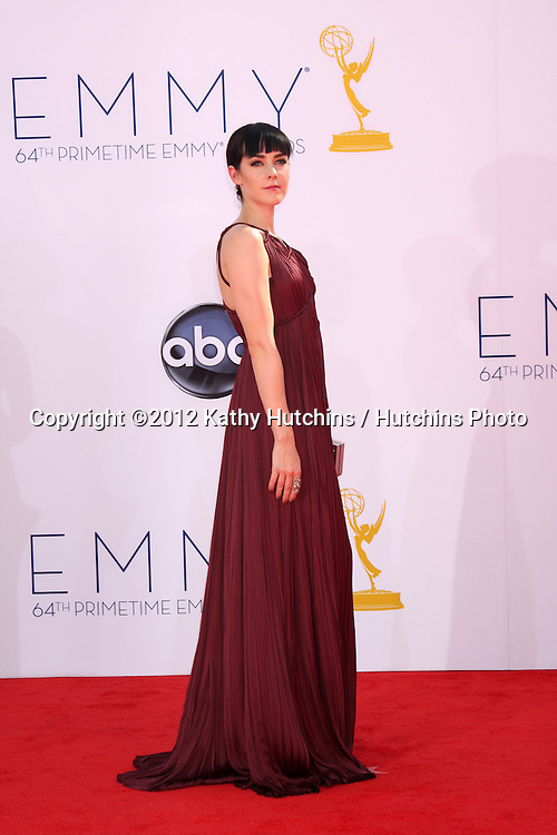 LOS ANGELES - SEP 23:  Jena Malone arrives at the 2012 Emmy Awards at Nokia Theater on September 23, 2012 in Los Angeles, CA