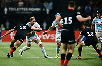 17th November 2019,  Paris La Défense Arena, Hauts-de-Seine, France; Champions Cup Rugby Union, Racing 92 versus Saracens;  ANTONIE CLAASSEN (Racing ) tackled by A Lozowski (Saracens)