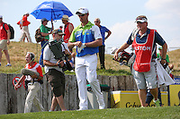 Jaco Van Zyl (RSA) heads  down the 17th leading during Round Three of the 2015 Alstom Open de France, played at Le Golf National, Saint-Quentin-En-Yvelines, Paris, France. /04/07/2015/. Picture: Golffile | David Lloyd<br /> <br /> All photos usage must carry mandatory copyright credit (© Golffile | David Lloyd)