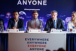 22.07.2019 Rangers launch diversity and inclusion campaign 'Everyone, Anyone'  at Ibrox today. Anas Sarwar, Steven Gerrard and Stewart Robertson