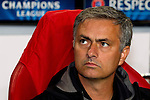 Nederland, Amsterdam, 3 oktober  2012.Seizoen 2012-2013.Champions League.Ajax_Real Madrid.Jose Mourinho trainer-coach van Real Madrid