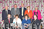 Sean Kelly MEP presenting awards to the winners of the Killarney Looking Good categories in the Dromhall Hotel Killarney on Friday night front row l-r: Sean Kelly, Marie Doyle, Eileen Murphy, Yvonne Quill. Back row: Paddy Ryan, Dermot O'Donoghue, John Breen, Maureen and Caroline O'Donoghue