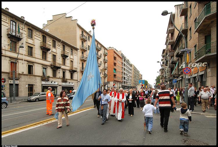 CIRCOSCRIZIONE 6 - Corso Giulio Cesare durante la festa della Madonna di Ripalta
