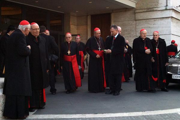 El c&oacute;nclave para elegir al Papa.<br /> Lopez Rodriguez, Victor Grimaldi<br /> .Foto: Fuente Externa/acento.com.do..Fecha: 08/03/2013.