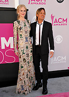 Nicole Kidman &amp; Keith Urban at the Academy of Country Music Awards 2017 at the T-Mobile Arena, Las Vegas, NV, USA 02 April  2017<br /> Picture: Paul Smith/Featureflash/SilverHub 0208 004 5359 sales@silverhubmedia.com