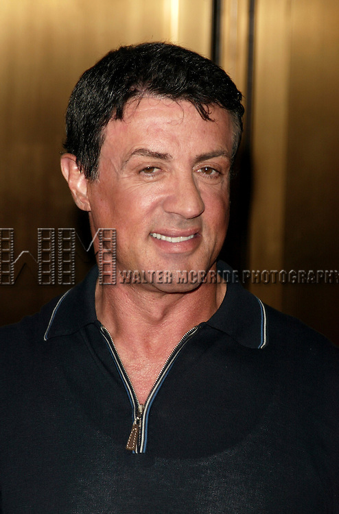 Sylvester Stallone <br /> Attending the NBC Network 2004-2005 Upfront announcements at Radio City Music Hall in New York City.<br /> May 17, 2004