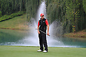 William Harold (ENG), European Challenge Tour, Kazakhstan Open 2014, Zhailjau Golf Club, Almaty, Kazakhstan. (Picture Credit / Phil Inglis)