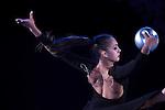 Margarita Mamun (RUS), <br /> OCTOBER 4, 2015 - Rhythmic Gymnastics : <br /> AEON CUP 2015 Worldwide R.G. Club Championships <br /> exhibition event<br /> at Tokyo Metropolitan Gymnasium, Tokyo, Japan. <br /> (Photo by AFLO SPORT)