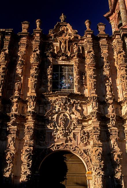 San Francisco Church, San Miguel de Allende, Guanajuato State, Mexico, North America