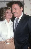 Cathy Lee Crosby Stacy Keach 1981<br /> Photo By John Barrett/PHOTOlink.net / MediaPunch