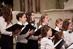 20.12.2015, Berlin Synagoge Rykestraße. Grand Final Concert of all choirs at the Louis Lewandowsky Festival for synagogal music. Children and Youth choir Synagogue Pestalozzistraße (Photo by Gregor Zielke)