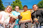 Celebrations of Africa Day in Tralee included a performance of traditional music by members of Tralee International Resource Centre at Tralee Educate Together National School. .L-R Serena O'Donoghue, Jennifer Byrne, Ryan Leonard and Victoria Duda