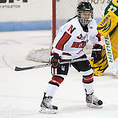 Rachel Llanes (Northeastern - 11) - The Northeastern University Huskies defeated the visiting Clarkson University Golden Knights 5-2 on Thursday, January 5, 2012, at Matthews Arena in Boston, Massachusetts.