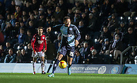 Jermaine Udumaga of Wycombe Wanderers plays a part in the 2nd goal on his debut during the Sky Bet League 2 match between Wycombe Wanderers and Crawley Town at Adams Park, High Wycombe, England on 28 December 2015. Photo by Andy Rowland / PRiME Media Images