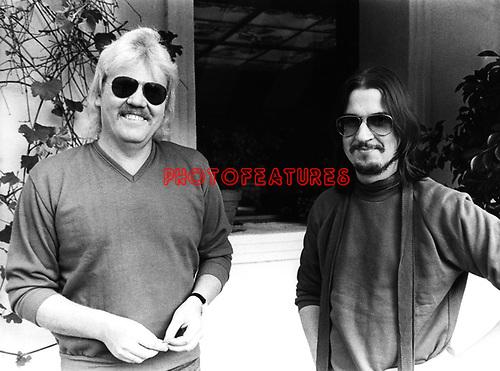 Tangerine Dream 1980 Edgar Froese and Christopher Franke.© Chris Walter.