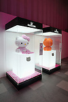 """June 29, 2011, Swarovski and Hello Kitty collaboration jewelry line - Swarovski presents """"House of Hello Kitty"""" makes a debut at Omotesando Hills in Tokyo, Japan. This is also a charity event to help the Earthquake victims of Japan."""