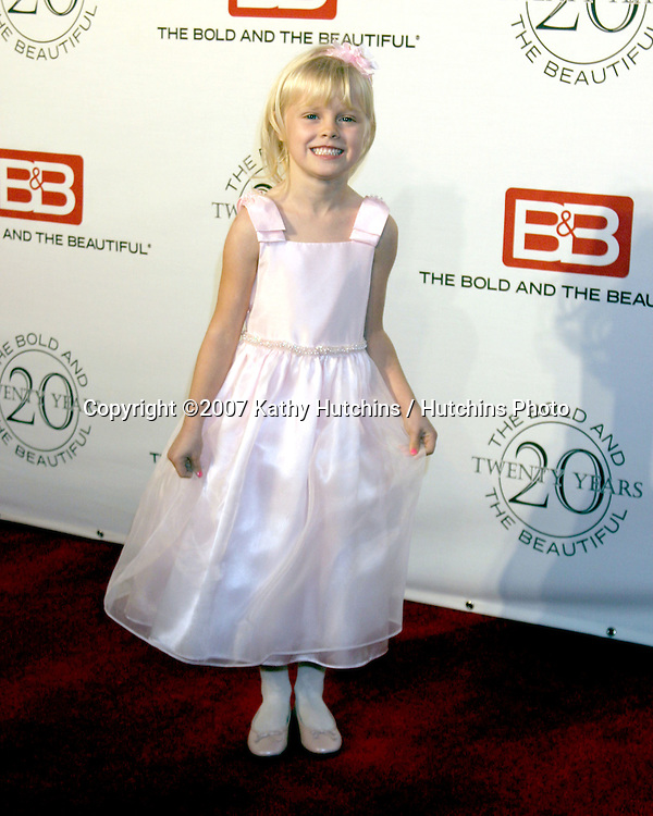 Harley Graham.The Bold & The Beautiful 20th Anniversary Party.Two Rodeo Drive.Beverly Hills, CA.March 25, 2007.©2007 Kathy Hutchins / Hutchins Photo.