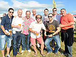 Warren Nawn on his stag party with all his friends at Bellewstown races. Photo:Colin Bell/pressphotos.ie