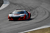 Pirelli World Challenge<br /> Intercontinental GT Challenge California 8 Hours<br /> Mazda Raceway Laguna Seca<br /> Sunday 15 October 2017<br /> Ryan Eversley, Tom Dyer, Dane Cameron, Acura NSX GT3, GT3 Overall<br /> World Copyright: Richard Dole<br /> LAT Images<br /> ref: Digital Image RD_PWCLS17_306