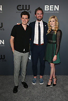 BEVERLY HILLS, CA - AUGUST 4: Ben Lewis, Stephen Amell, Katherine McNamara, at The CW's Summer TCA All-Star Party at The Beverly Hilton Hotel in Beverly Hills, California on August 4, 2019. <br /> CAP/MPI/FS<br /> ©FS/MPI/Capital Pictures