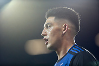 SAN JOSE, CA - JUNE 26: Cristian Espinoza #10 during a Major League Soccer (MLS) match between the San Jose Earthquakes and the Houston Dynamo on June 26, 2019 at Avaya Stadium in San Jose, California.