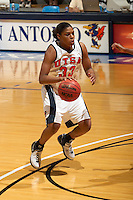 SAN ANTONIO, TX - NOVEMBER 5, 2006: The Dallas Diesel vs. The University of Texas at San Antonio Roadrunners Women's Basketball at the UTSA Convocation Center. (Photo by Jeff Huehn)
