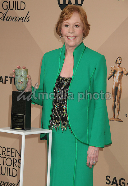 30 January 2016 - Los Angeles, California - Carol Burnett. 22nd Annual Screen Actors Guild Awards held at The Shrine Auditorium. Photo Credit: Byron Purvis/AdMedia