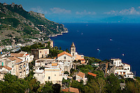Torello, historic village beneath Ravello, overlooking the spectacular Amalfi Coast, Italy