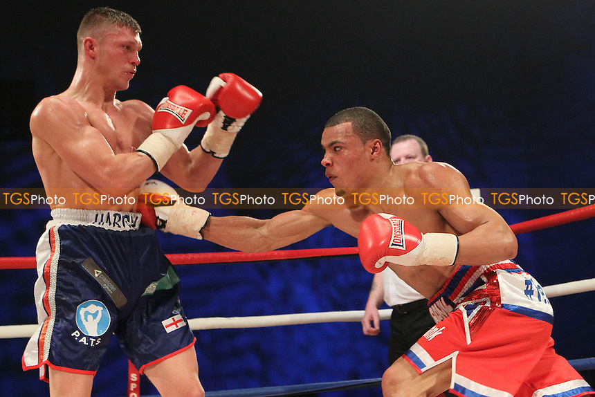Chris Eubank Jr vs Harry Matthews in a boxing contest at the Hillsborough Leisure Centre, Sheffield, promoted by Hennessy Sports - 12/05/12 - MANDATORY CREDIT: Chris Royle/TGSPHOTO - Self billing applies where appropriate - 0845 094 6026 - contact@tgsphoto.co.uk - NO UNPAID USE..