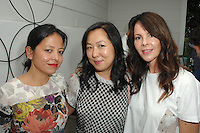Sylvia Chivaratanond, Celia Chen, Kelly Lamb==<br /> LAXART 5th Annual Garden Party Presented by Tory Burch==<br /> Private Residence, Beverly Hills, CA==<br /> August 3, 2014==<br /> ©LAXART==<br /> Photo: DAVID CROTTY/Laxart.com==