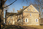 McConkey's Ferry Inn, Washingtons Crossing State Park, Bucks County, Pennsylvania 1776